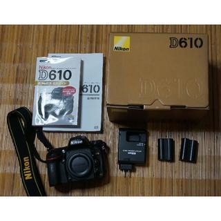 Nikon - NIKON ニコン D610ボデー おまけ有り美品
