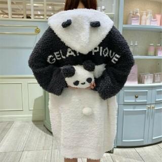gelato pique - ジェラートピケ パンダモコBIGパーカー