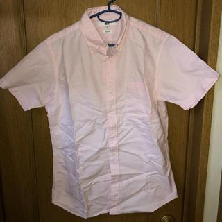 ユニクロ(UNIQLO)のUNIQLO ユニクロ 半袖シャツ カラーピンク(シャツ)