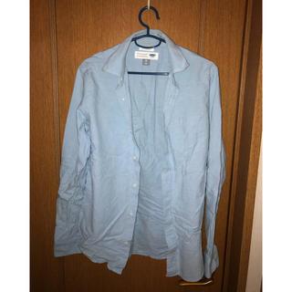 オールドネイビー(Old Navy)のオールドネイビー ワイシャツ シャツ 無地 カラーブルー(シャツ)