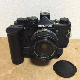 OLYMPUS - オリンパス  OM-2n  28mmレンズ  ワインダーセット  動作品