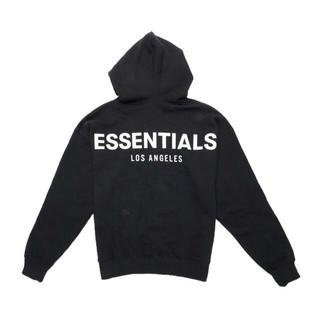 フィアオブゴッド(FEAR OF GOD)の(S)LA限定!FOG Essentials LA Logo Pullover黒(パーカー)