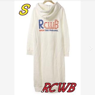RODEO CROWNS WIDE BOWL - ゲリラセール☆*° RCWB バックプリントワンピ サイズS