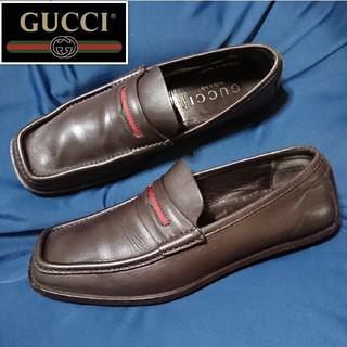Gucci - GUCCI❇️シェリーライン 本革ローファー