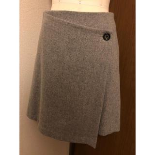 オペーク(OPAQUE)の美品☆OPAQUE巻きスカート風スカート(ミニスカート)