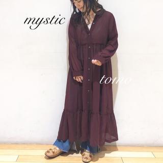 mystic - 新品❁ミスティック シアーティアードワンピース