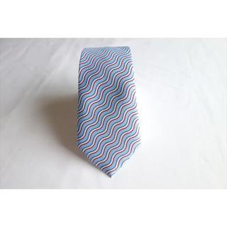 コムサイズム(COMME CA ISM)の良品 コムサイズム ネクタイ 爽やか水色系 シルク 中古(ネクタイ)