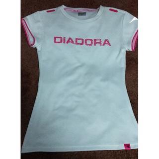 DIADORA - ディアドラ レディーステニスウェア ホワイト M