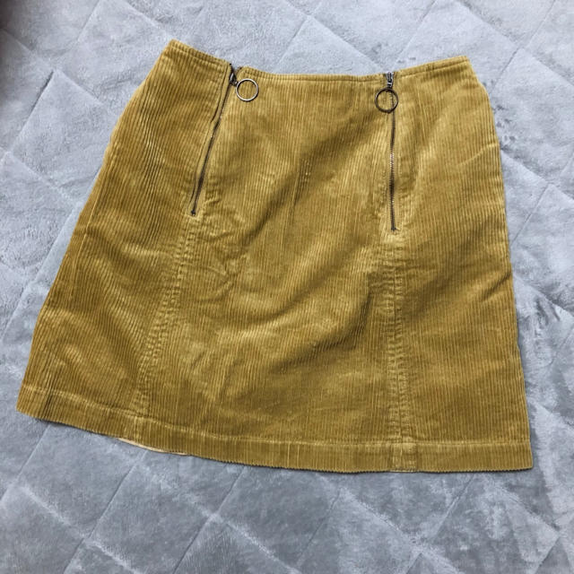 MERCURYDUO(マーキュリーデュオ)のコーデュロイスカート レディースのスカート(ミニスカート)の商品写真