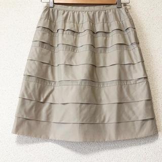 マッキントッシュフィロソフィー(MACKINTOSH PHILOSOPHY)のマッキントッシュフィロソフィー ティアードスカート(ひざ丈スカート)
