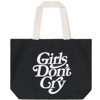 GDC - GDC Girls don't cry ガールズドントクライ 黒 トートバック