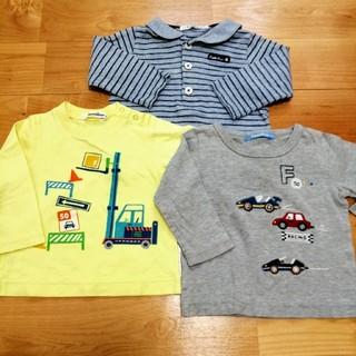 familiar - familiar 80 長袖シャツ セット