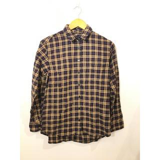 ユニクロ(UNIQLO)の①ユニクロ チェック柄長袖シャツ #Cattleya (シャツ/ブラウス(長袖/七分))