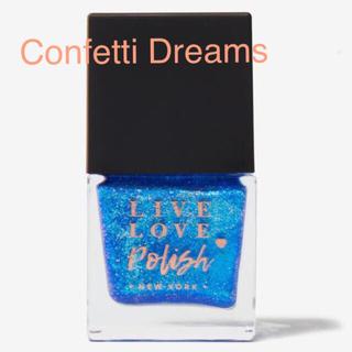レブロン(REVLON)の新品 Confetti Dreams ロイヤルブルー ラメ マニキュア(マニキュア)