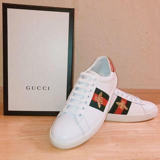 Gucci - 27.5CM GUCCI エース スニーカー 新品未使用