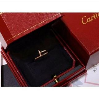 Cartier - カルティエ ジュストアンクル WG ダイヤ 14号 リング