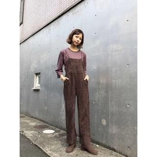 Kastane - ☆秋冬新作 即完売品 Kastane フェイクスウェードサロペット