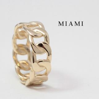 アヴァランチ(AVALANCHE)のAVALANCHE アバランチ 10K 13号 マイアミキューバン (リング(指輪))