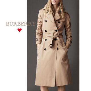 BURBERRY - Burberry 定番💓美品 限定お値下げ トレンチコート  ロング