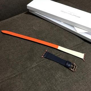 アップルウォッチ(Apple Watch)のアップルウォッチ40サイズ革ベルト(腕時計)