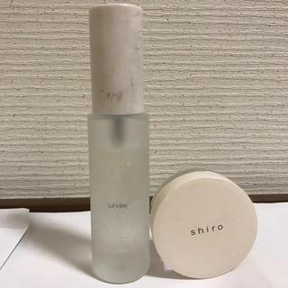 shiro - Shiro オードパルファン サボン 40ミリ 練り香水 18g 2個セット
