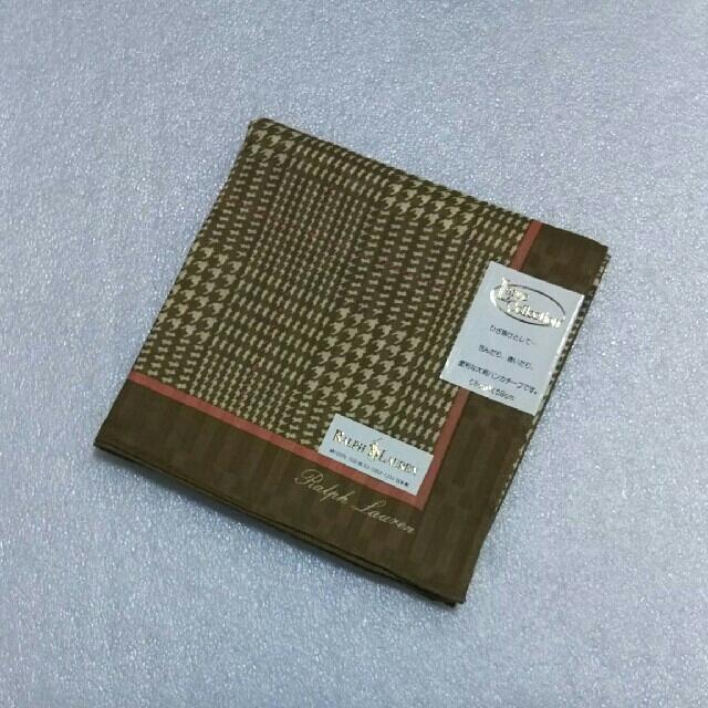 Ralph Lauren(ラルフローレン)のRALPH LAUREN☆大判ハンカチーフ58×58 レディースのファッション小物(バンダナ/スカーフ)の商品写真