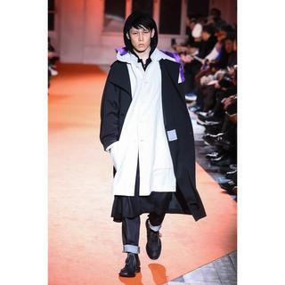 Yohji Yamamoto - 【18AW】yohji yamamoto pour homme 抜染フードコート