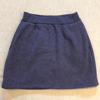 ユニクロ(UNIQLO)の【UNIQLO】モコモコスカート  110(スカート)