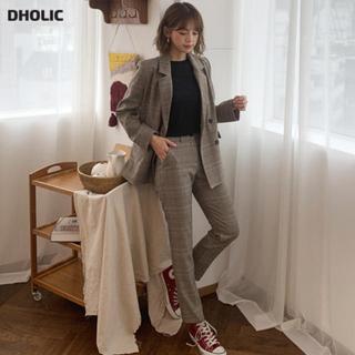 ディーホリック(dholic)のDHOLIC セットアップ グレンチェック スーツ(セット/コーデ)
