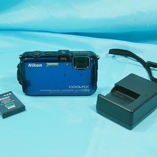 Nikon - NIkon ニコン COOLPIX AW100 水深10m・アウトドアデジカメ