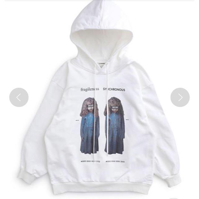 SHAREEF(シャリーフ)のshareef 双子 twins hoodie メンズのトップス(パーカー)の商品写真