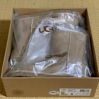 UGG - UGG CLASSIC SHORT 8 25cm SAND アグ 新品 未使用品