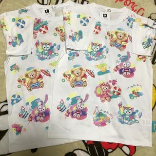 Disney - ディズニー ダッフィー Tシャツ M&Lサイズ 2点セット