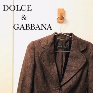 ドルチェアンドガッバーナ(DOLCE&GABBANA)のDOLCE&GABBANA ドルチェアンドガッバーナ テーラードジャケット(テーラードジャケット)