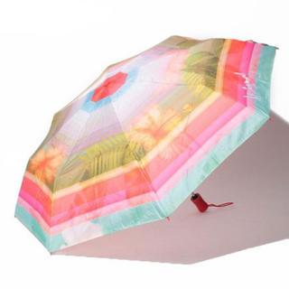 DESIGUAL - 新品 定価6000円 デシグアル 明るく華やかな折り畳み傘
