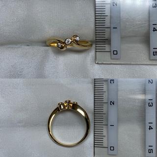 MIKIMOTO - MIKIMOTO k18 ダイヤモンド リング