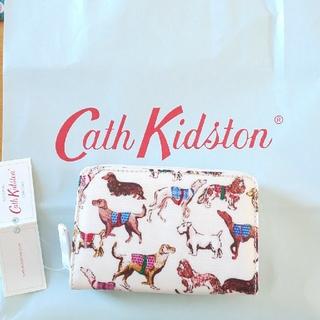 Cath Kidston - 新品 キャスキッドソン dog柄 財布 犬 ワンコ