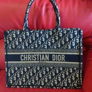 Dior - Christian Dior 本物 ブックトート ミニ スモール トロッター