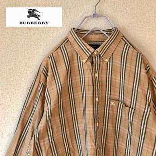 BURBERRY - b2 バーバリー  ノバチェック    シャツ 大きめ