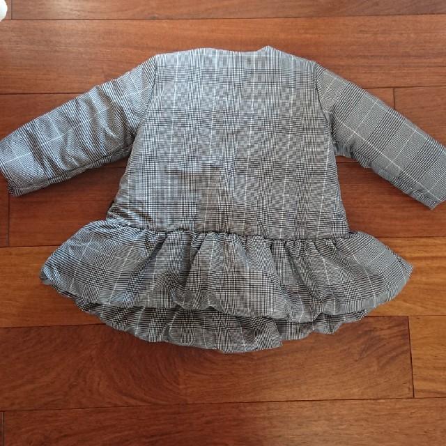 COMME CA ISM(コムサイズム)のCOMME CA ISM コート 90 キッズ/ベビー/マタニティのキッズ服 女の子用(90cm~)(コート)の商品写真