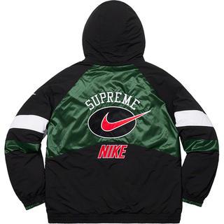 シュプリーム(Supreme)の19ss Supreme Nike Hooded Sport Jacket 緑S(ブルゾン)