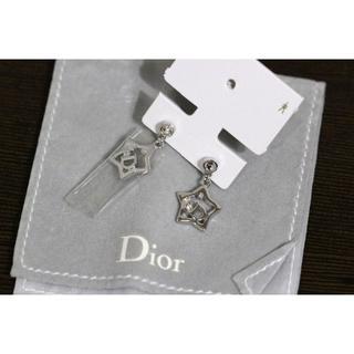 クリスチャンディオール(Christian Dior)の新品Christian Dior ストーン付きスターピアス(ピアス)