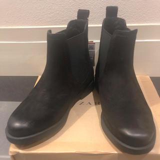 ザラ(ZARA)のZARA キッズブーツ 黒 新品 21センチ19.5ブラック ハイカット(ブーツ)