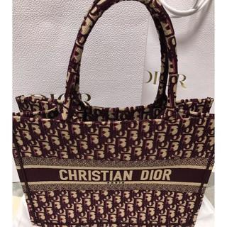 予約完売品 新品 Christian Dior ディオール ブックトートスモール