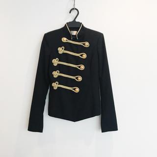ドゥーズィエムクラス(DEUXIEME CLASSE)のLYDIE ナポレオン ジャケット 美品(テーラードジャケット)