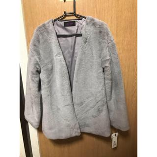 ローズバッド(ROSE BUD)の新品Rose Bud ローズバッドファージャケット コート アウター(毛皮/ファーコート)