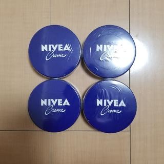 ニベア(ニベア)の現品のみ ニベア 青缶 169g 4個(ボディクリーム)