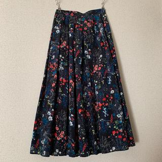 IENA - ノイズメーカー ボタニカル花柄スカート
