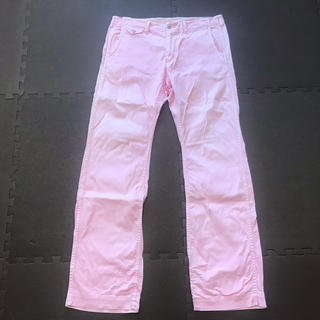 SHIPS - シップスSHIPSカラーチノパン(ピンク)