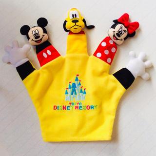 Disney - ディズニーリゾート 指人形 新品